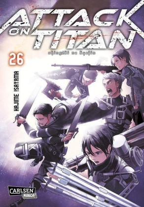 Attack on Titan 26 (ab 16 Jahre) Manga