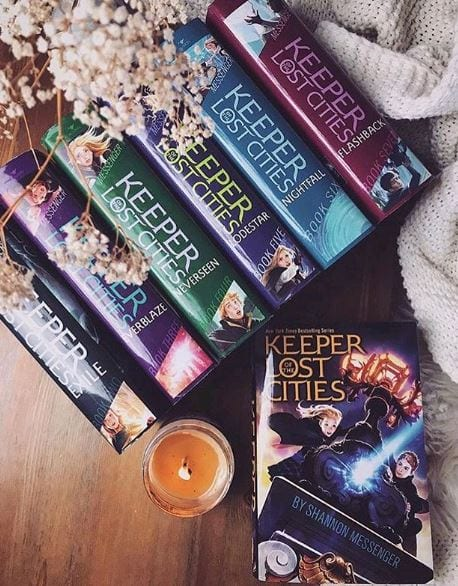 Keeper of the Lost Cities von Shannon Messenger - Science Fiction und Fantasy Bücher