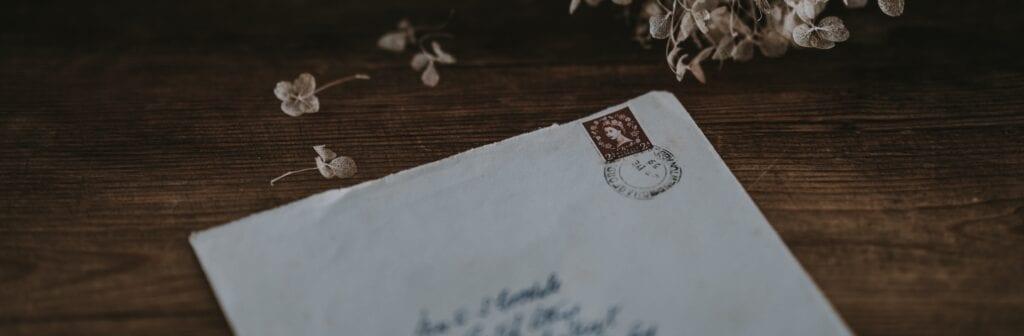 """""""Der Brief von früher"""" – eine Geschichte von Raphaela Sohm"""